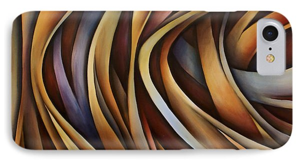 Verticle Design Phone Case by Michael Lang