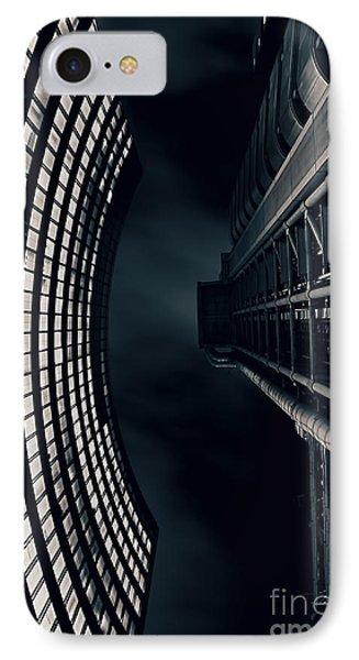 Vertigo I IPhone Case by Jasna Buncic