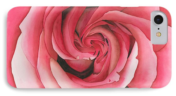 Vertigo Rose Phone Case by Ken Powers