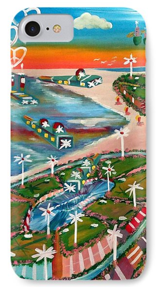 Verve Island IPhone Case by Jay Anthony Gonzales
