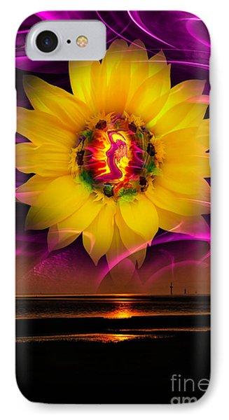 Very Beautiful  Sunrise IPhone Case by Walter Zettl