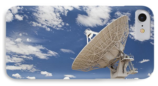 Very Large Array Antenna Phone Case by Bryan Mullennix