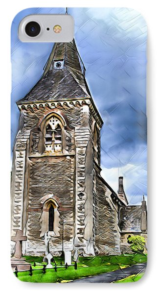Very Old Church IPhone Case by Pennie  McCracken