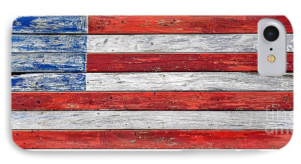 Very Old Glory IPhone Case by Olivier Le Queinec