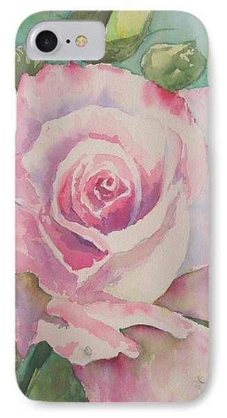 Very Rose  IPhone Case by Kathy  Karas