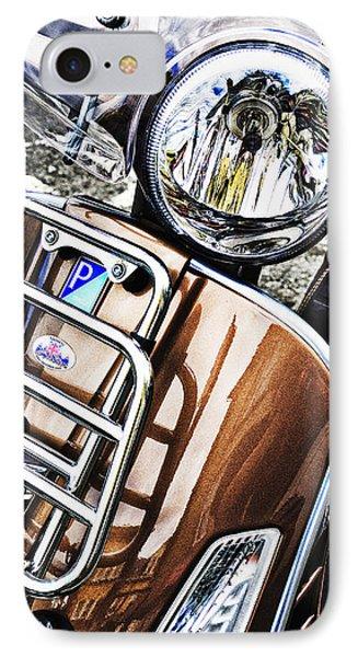 Vespa Piaggio  IPhone Case by Bernard Webb