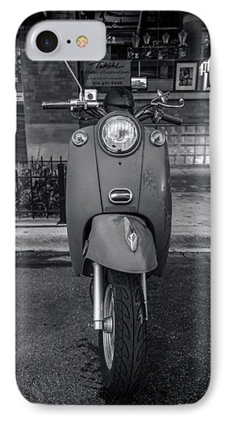 IPhone 7 Case featuring the photograph Vespa by Sebastian Musial
