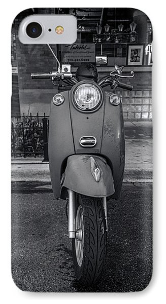 IPhone Case featuring the photograph Vespa by Sebastian Musial