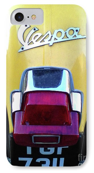IPhone Case featuring the photograph Vespa Style by Rebecca Harman
