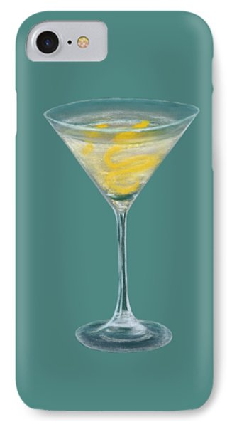 Vesper Martini IPhone Case by Anastasiya Malakhova