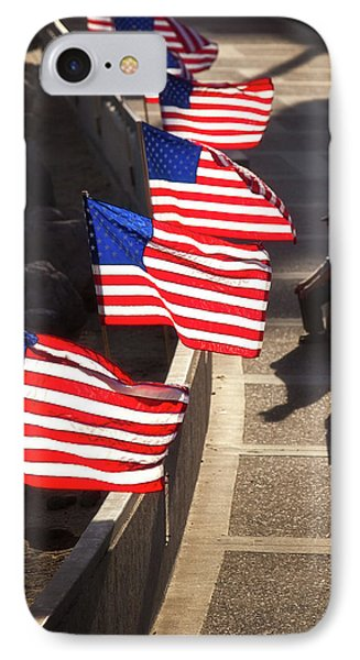 Veteran With Our Nations Flags IPhone Case