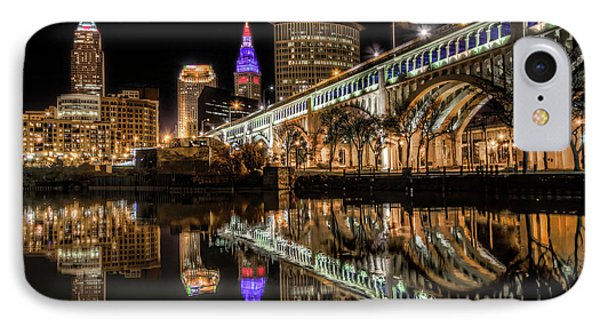 Veterans Memorial Bridge IPhone Case by Brent Durken