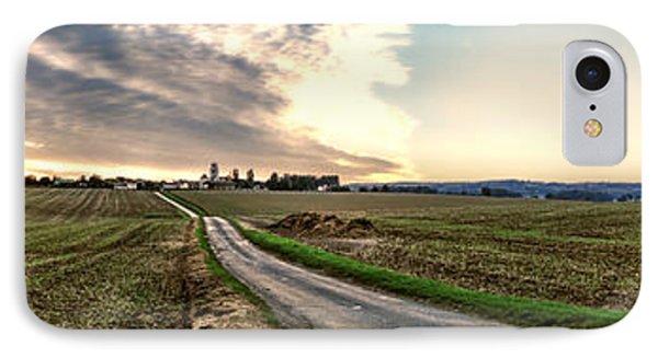 Vexin Landscape IPhone Case by Olivier Le Queinec