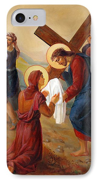 Via Dolorosa - Veil Of Saint Veronica - 6 IPhone Case