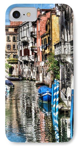 Viale Di Venezia IPhone Case by Tom Cameron