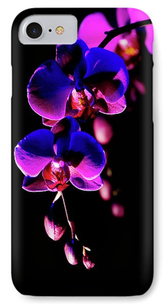 IPhone Case featuring the photograph Vibrant Orchids by Ann Bridges
