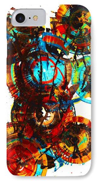 Vibrant Sphere Series 995.042312vsx2 IPhone Case by Kris Haas