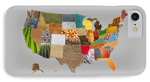 Vibrant Textures Of The United States IPhone Case