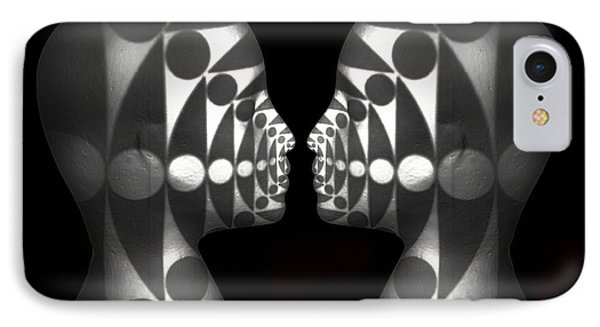 IPhone Case featuring the photograph Vibrating Forms by Jeff  Gettis