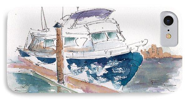 Vic Harbor Boat IPhone Case