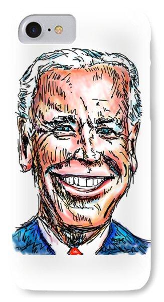 Vice President Joe Biden IPhone 7 Case by Robert Yaeger