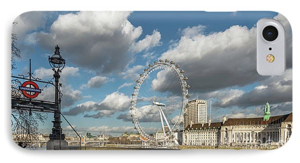 Victoria Embankment IPhone Case by Adrian Evans