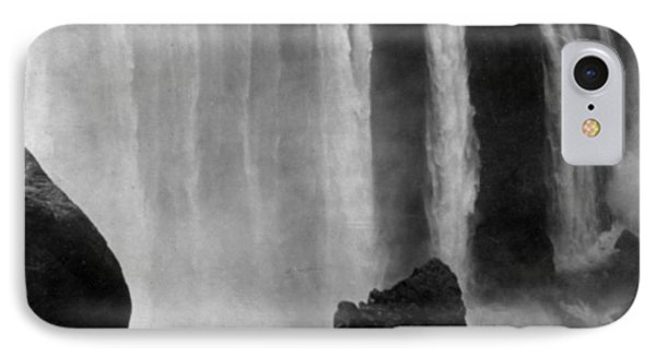Victoria Falls - C 1911 IPhone Case by International  Images