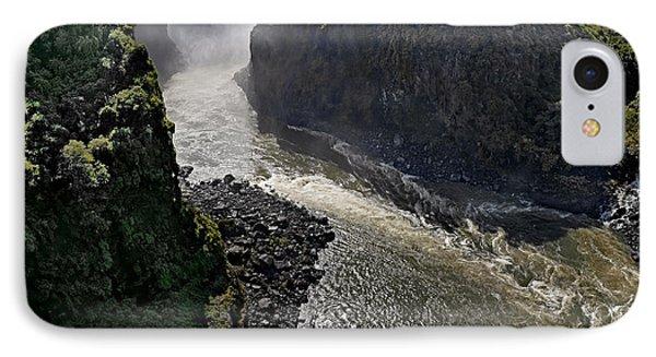 Victoria Falls IPhone Case by Joe Bonita