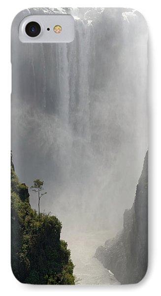 Victoria Falls No. 2 IPhone Case by Joe Bonita