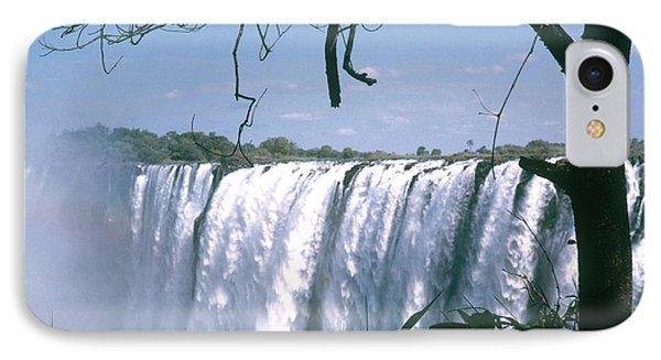 Victoria Falls Phone Case by Photo Researchers, Inc.