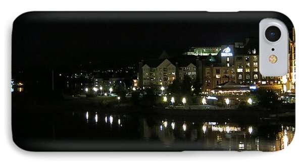 Victoria Harbor Night View IPhone Case by Betty Buller Whitehead