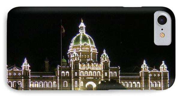 Victoria Legislative Buildings IPhone Case by Betty Buller Whitehead