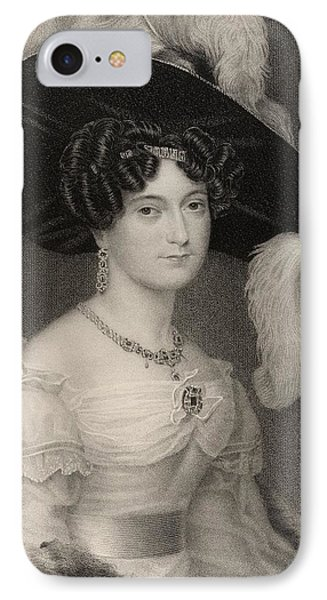 Victoria Maria Louisa Duchess Of Kent IPhone Case by Vintage Design Pics