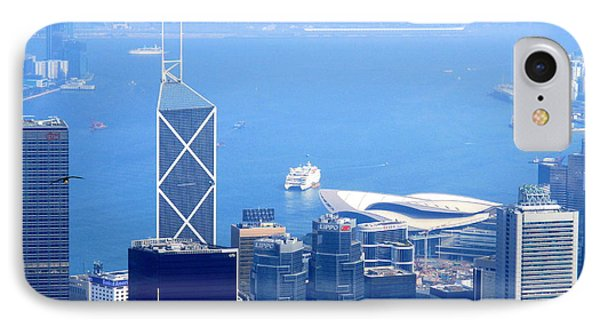 IPhone Case featuring the photograph Victoria Peak 2 by Randall Weidner
