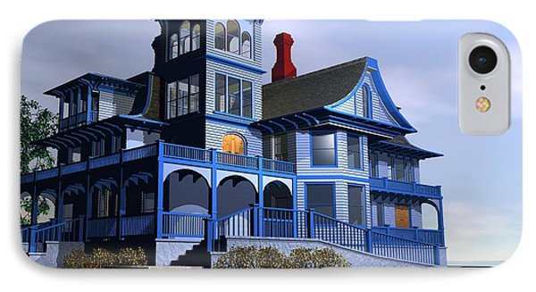 Victorian Cape May IPhone Case by John Pangia