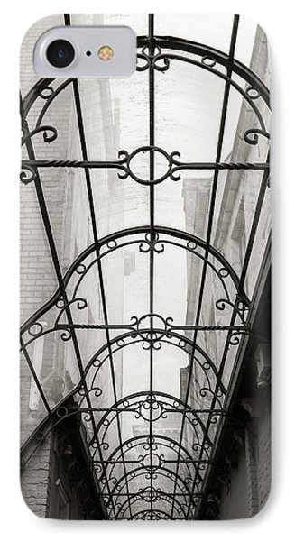 Victorian Glass Roof IPhone Case by Wim Lanclus