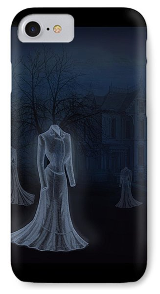 Victorian Haunting IPhone Case