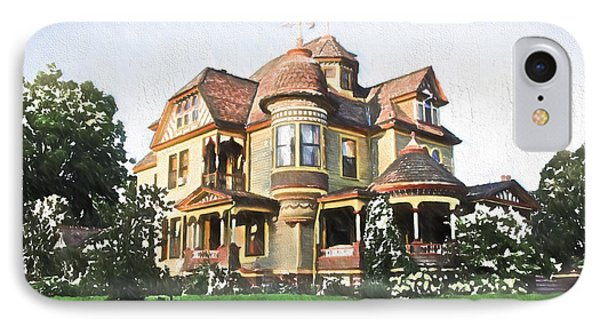 Victorian House Phone Case by Ericamaxine Price
