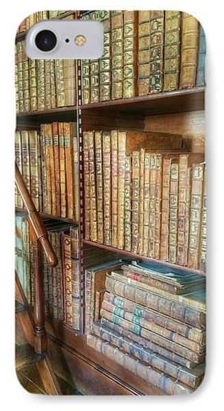 Victorian Library IPhone Case by Isabella F Abbie Shores FRSA