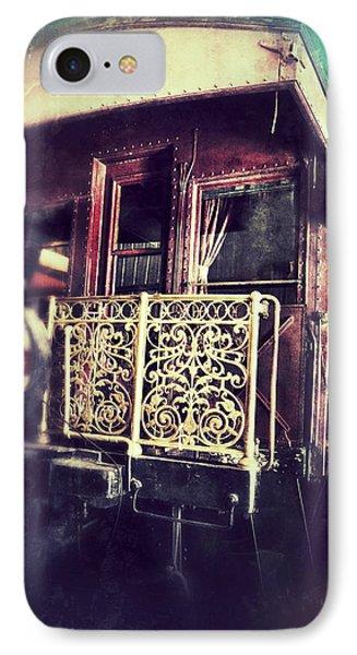 Victorian Train Car IPhone Case by Jill Battaglia