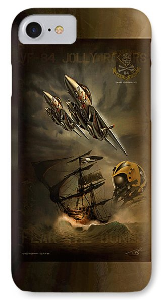 Victory Cats IPhone Case by Peter Van Stigt