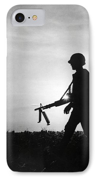 Vietnam Training Exercise IPhone Case by Underwood Archives