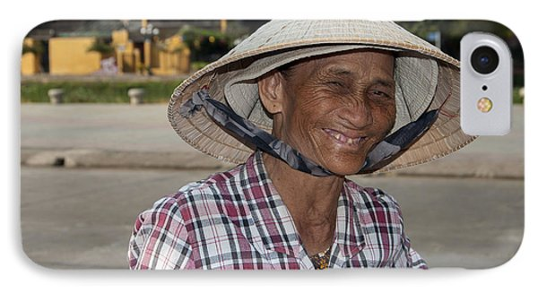 Vietnamese Street Vendor IPhone Case by Rob Hemphill