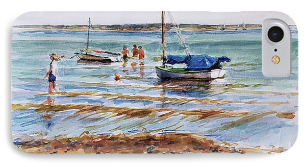 View Across Provincetown Harbor Phone Case by Peter Salwen