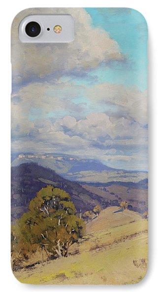 View Across The Kanimbla Valley Australia IPhone Case