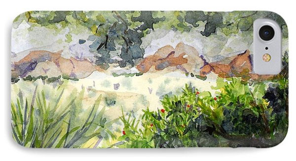 View At Red Rock IPhone Case by Vicki  Housel