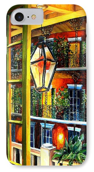 View From A French Quarter Balcony Phone Case by Diane Millsap