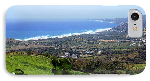 IPhone Case featuring the photograph View From Cherry Hill, Barbados by Kurt Van Wagner
