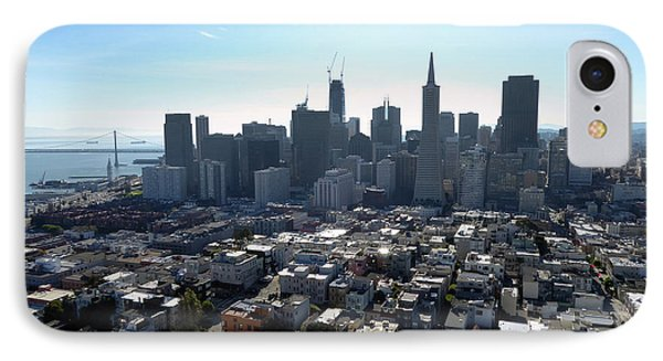 View From Coit Tower IPhone Case by Steven Spak