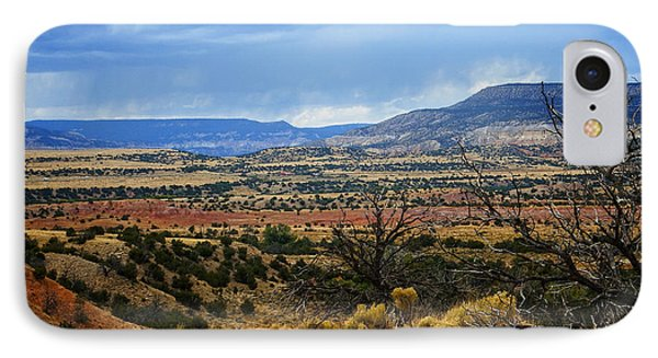 IPhone Case featuring the photograph View From Ghost Ranch, Nm by Kurt Van Wagner